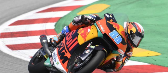 Jorge Martin 15th in Catalan GP