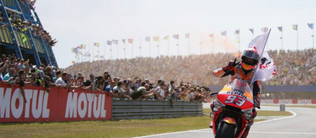Marc Marquez extends championship lead after incredible Assen battle