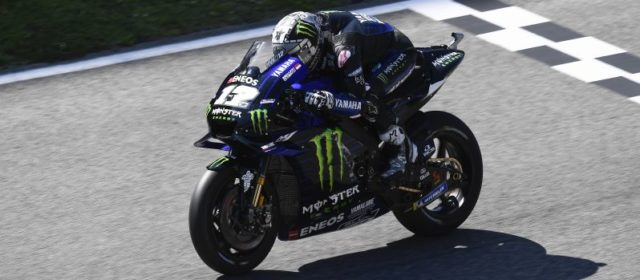 Determined Maverick Vinales Collects Championship Points at Demanding Italian GP