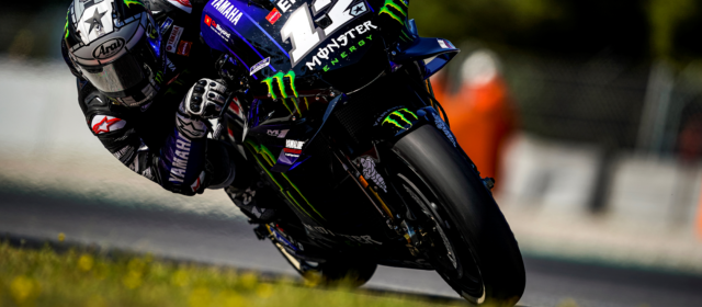 Disappointing end to Catalan GP for Maverick Vinales