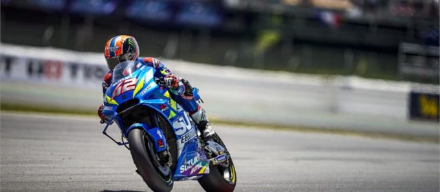 Strong qualifying day for Alex Rins and Joan Mir at the Catalan GP