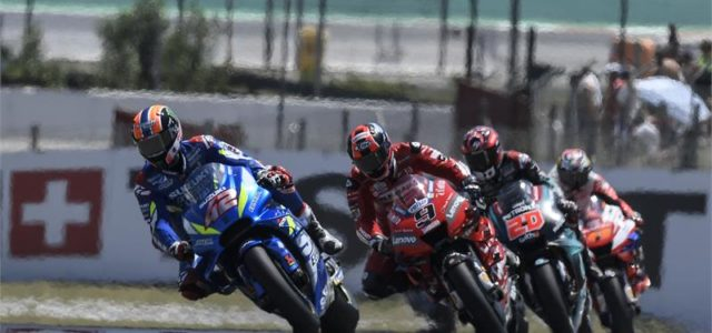 Alex Rins and Joan Mir take fourth and sixth at Montmelo
