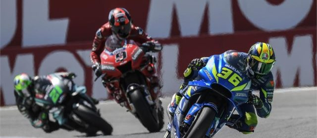 Joan Mir takes eighth at Assen, DNF for Alex Rins