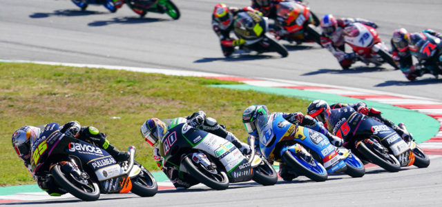 DNFs for both Albert Arenas and Raul Fernandez in the Catalan GP