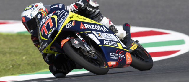 Bittersweet result for Vicente Pérez in the Italian Grand Prix