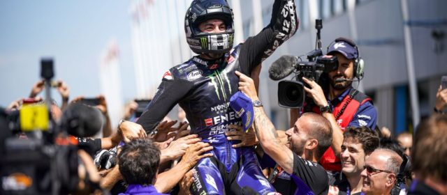 Maverick Viñales takes superb victory at Assen