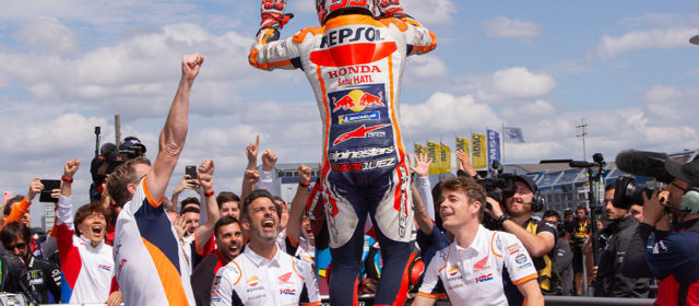 King of the Ring – Marc Marquez makes it a perfect ten in Germany