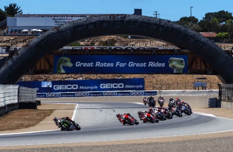 #USAWorldSBK – Day 2: Rea conquers Race 1 at Laguna Seca as Bautista crashes again