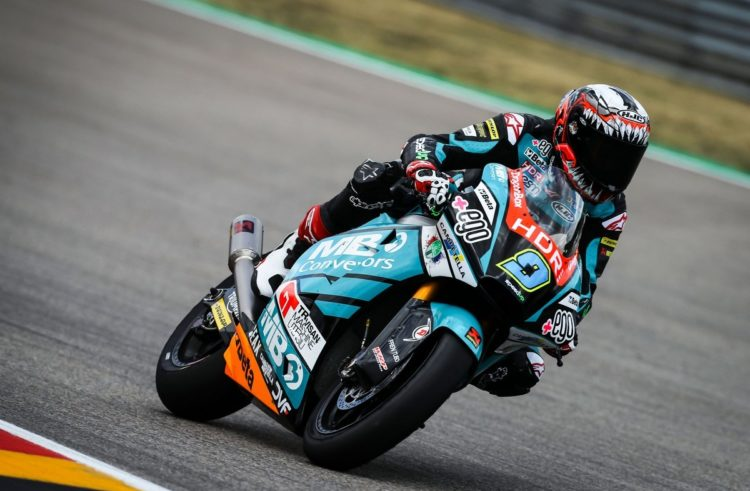 Ninth place for Jorge Navarro at Sachsenring