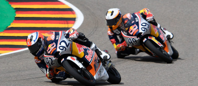 Red Bull Rookies: Kunii snatches victory from Tatay at the Sachsenring