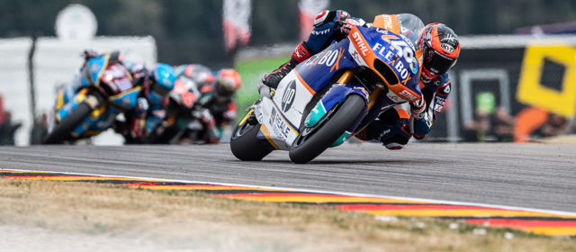 Complicated race day for Augusto Fernandez at the Sachsenring