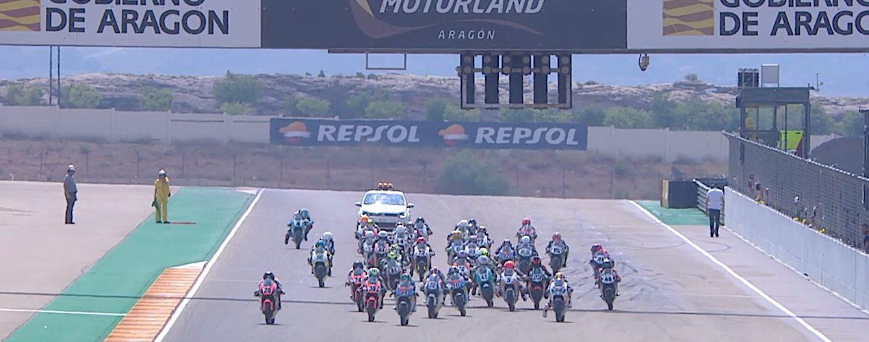 VIDEO: CEV Repsol, Aragon, European Talent Cup Race 1 highlights