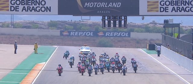VIDEO: CEV Repsol, Aragon, European Talent Cup Race 1 highlights