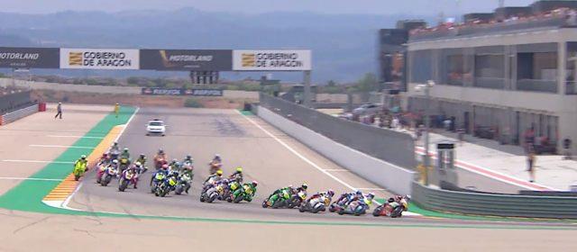 VIDEO: CEV Repsol, Aragon, Moto2 Race 2 highlights