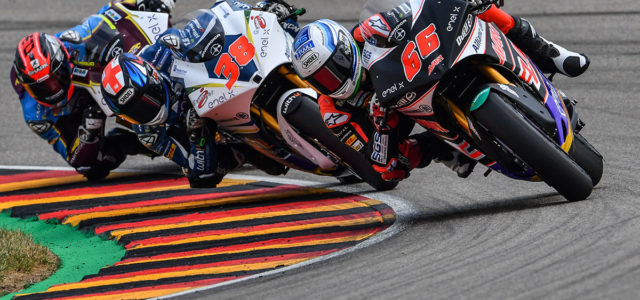Tuuli takes first ever MotoE win after a tight battle at the top