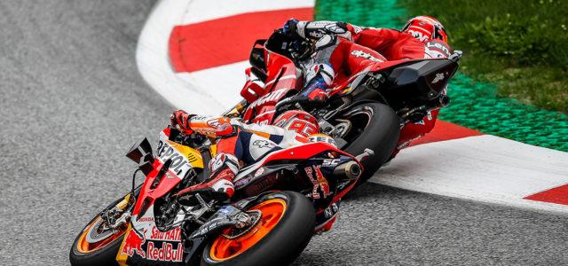Scintillating second for Marc Marquez in explosive Austrian GP