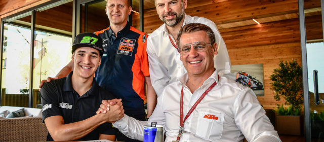 Iker Lecuona joins Red Bull KTM Ajo Moto2 in 2020