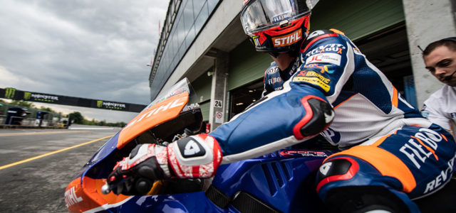Augusto Fernandez starts from 10th in Brno