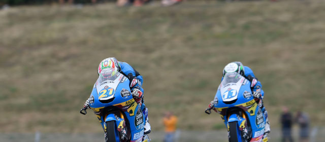 Alonso Lopez and Sergio Garcia crash out of Czech GP