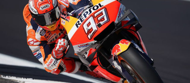 Marc Marquez soars for record-breaking Silverstone pole, Jorge Lorenzo 21st