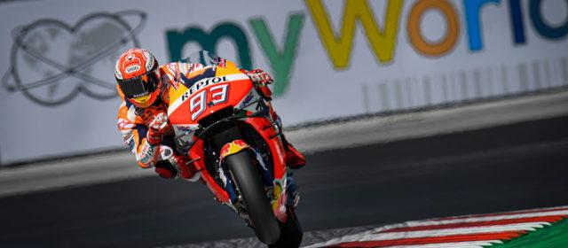 Austrian Grand Prix, Red Bull Ring – Friday roundup: MotoGP, Moto2, Moto3