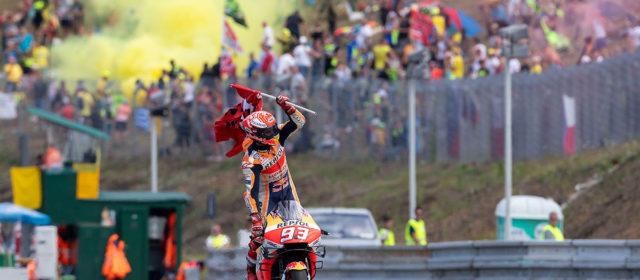#CzechGP Brno, raceday roundup: MotoGP, Moto2, Moto3