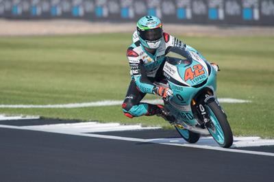 Ninth for Marcos Ramirez in Silverstone's qualifying
