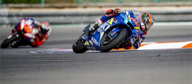 Fourth place for Alex Rins but DNF for Joan Mir in Brno