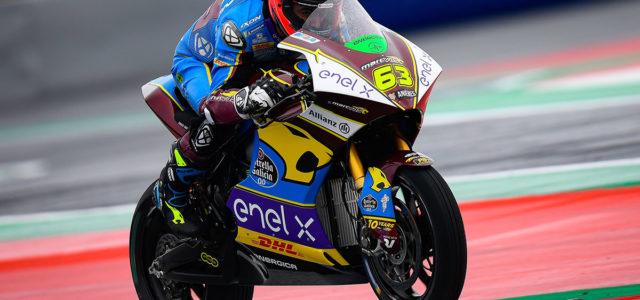 MotoE: Di Meglio escapes a fierce battle for the podium to win in Austria