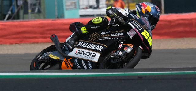 Raul Fernandez 18th in British GP, DNF for Albert Arenas