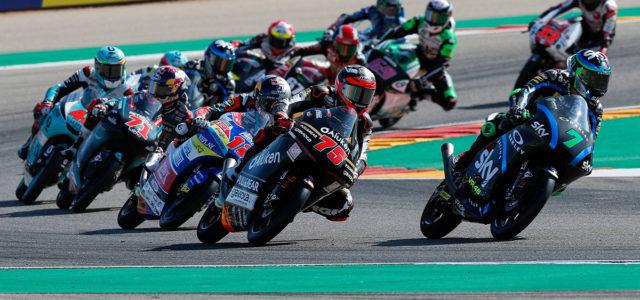 Albert Arenas 8th and Raul Fernandez 21at in Aragon