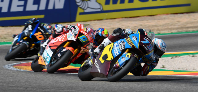 Alex Marquez takes crucial podium in Aragon, Xavi Vierge finishes tenth