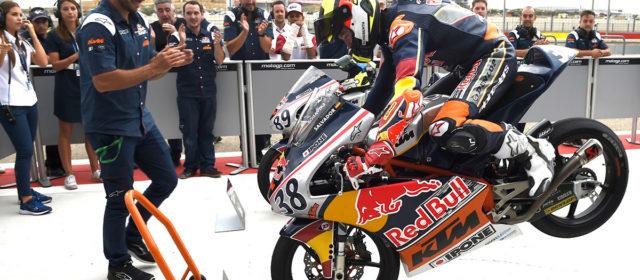 Sensational David Salvador wins Aragón race 2, drawing Red Bull Rookies Cup season to a close
