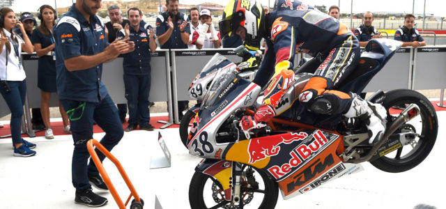 Sensational David Salvador wins Aragón race 2, drawing Red Bull Rookies Cup season to a close