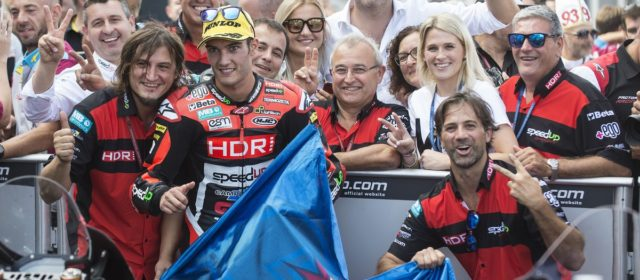 Jorge Navarro seals second place in Aragon