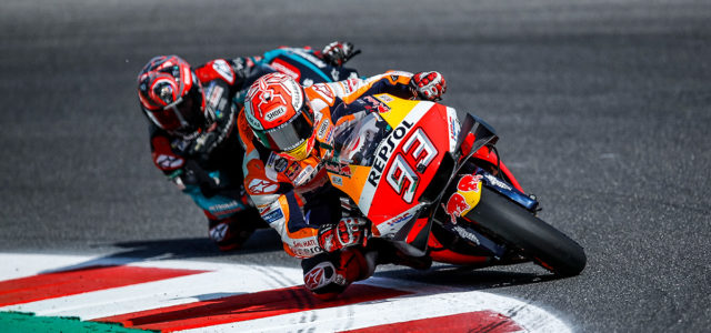 Marc Marquez takes last lap victory in Misano, Jorge Lorenzo fourteenth