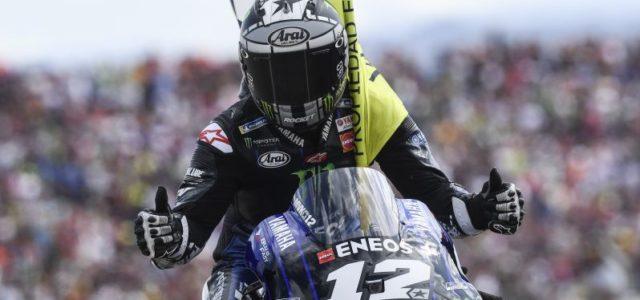 Maverick Vinales 4th in Aragon