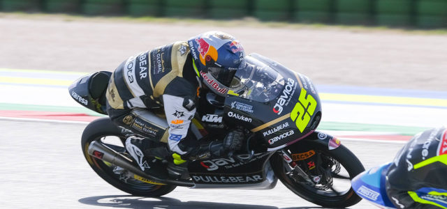 Top ten finish at Misano for Raul Fernandez, DNF for Albert Arenas