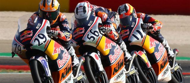 Red Bull Rookies: Billy van Eerde's last corner win in Aragón race 1