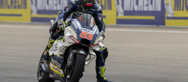 Tito Rabat in the points in Aragon