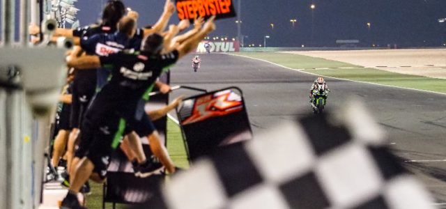 #QATWorldSBK Losail, Friday roundup: Rea victorious in Race 1 ahead of Davies and Lowes
