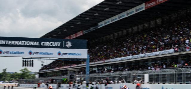 Augusto Fernandez just off the podium in Thailand
