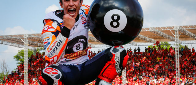 #8ball – Marc Marquez takes yet another championship title in Thailand
