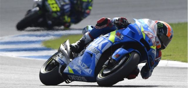 Alex Rins 5th and Joan Mir 7th in Thailand