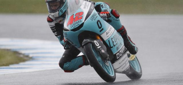Marcos Ramirez on the podium in Australia
