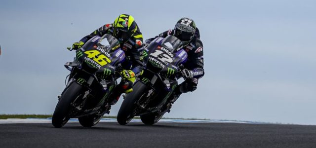 Competitive Phillip Island Race Ends in Tears for Maverick Vinales