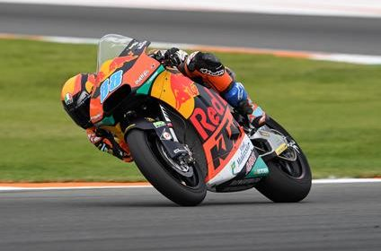 Jorge Martin top five result in Valencia