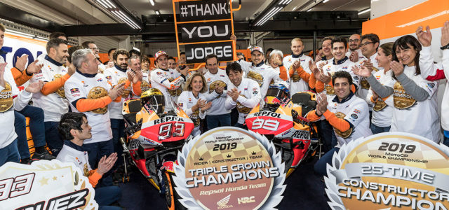 Marc Marquez wins in Valencia, heartfelt warm goodbyes to Jorge Lorenzo