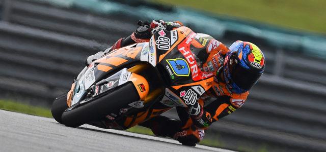 Jorge Navarro fifth in comeback race in Malaysia