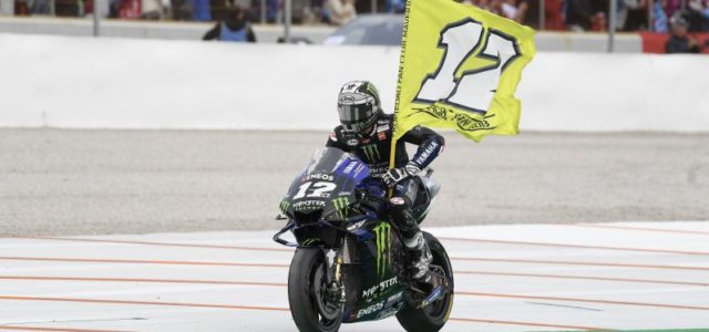 Sixth place for Maverick Vinales in Valencia